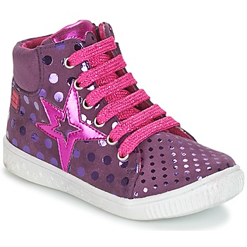 Shoes Girl Hi top trainers Agatha Ruiz de la Prada FLOW Purple