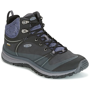 Shoes Women Walking shoes Keen TERRAODORA PULSE MID WP Black