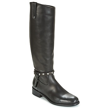 Shoes Women High boots Now POMODORO Black