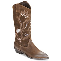 Shoes Women High boots Now SATURNA Brown