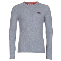 Clothing Men Long sleeved tee-shirts Superdry ORANGE LABEL VINTAGE Grey