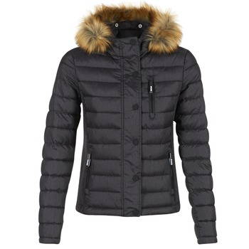 Clothing Women Duffel coats Superdry FUJI SLIM Black