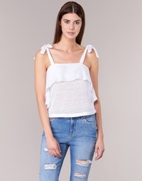 Clothing Women Tops / Blouses Moony Mood GEMA White