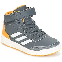 Shoes Boy Hi top trainers adidas Performance ALTASPORT MID EL K Grey
