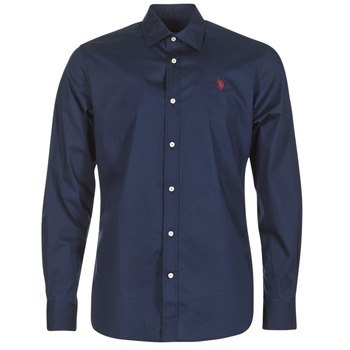 Clothing Men long-sleeved shirts U.S Polo Assn. ZED Marine