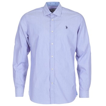 Clothing Men long-sleeved shirts U.S Polo Assn. RUSTY Marine