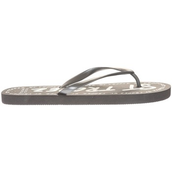Shoes Women Flip flops Mora Mora Tong Saint Tropez Noir Black