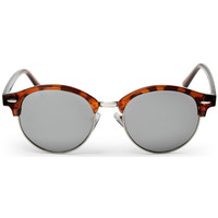 Watches Men Sunglasses Cheapo Jesper II Sunglasses - Turtle Brown / Silver Mirror Other