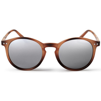 Watches Men Sunglasses Cheapo Trestles Sunglasses - Brown / Silver Mirror Brown