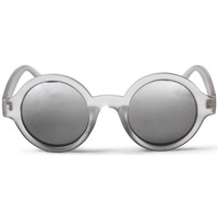 Watches Men Sunglasses Cheapo Sarah Sunglasses - Transparent Silver / Mirror Silver
