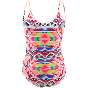 Clothing Women Swimsuits Billabong 1 Piece Multicolored Swimsuit Tribe Time MULTICOLOUR