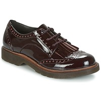 Shoes Women Derby Shoes Coolway PRAGA BORDEAUX