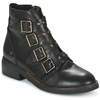 Shoes Women Mid boots Coolway DENZEL Black
