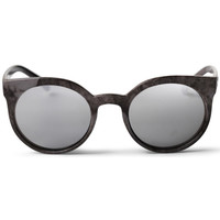 Watches Men Sunglasses Cheapo Padang Sunglasses - Grey / Silver Mirror Grey