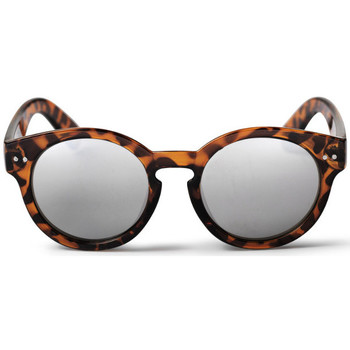 Watches Men Sunglasses Cheapo Burn Sunglasses - Turtle Brown / Silver Mirror Brown