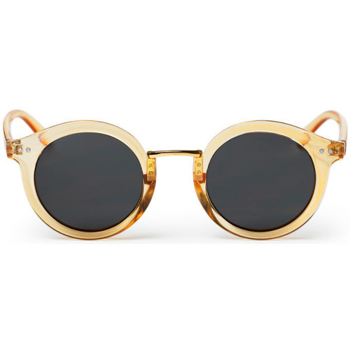 Watches Men Sunglasses Cheapo Vanessa Sunglasses - Honey / Black Gold