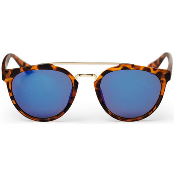 Watches Men Sunglasses Cheapo Copenhagen Sunglasses - Turtle Brown / Blue Mirror Brown