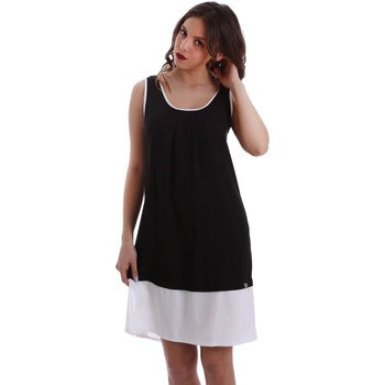 Clothing Women Long Dresses Café Noir JA451 Dress Women Nero