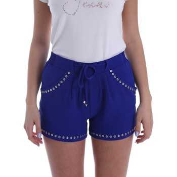 Clothing Women Shorts / Bermudas Gaudì Jeans 73BD25206 Shorts Women Blue Blue