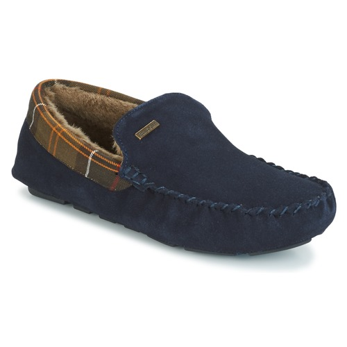 Shoes Men Slippers Barbour MONTY Navy