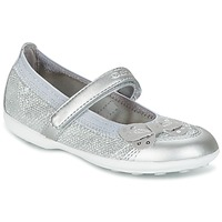 Shoes Girl Flat shoes Geox JR JODIE Avio