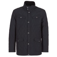 Clothing Men Jackets Gant THE CENTRAL POND QUILTER Black