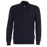Clothing Men Jackets / Cardigans Gant ZIP CARDIGAN Marine