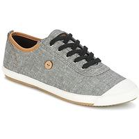 Shoes Men Low top trainers Faguo OAK01 Black