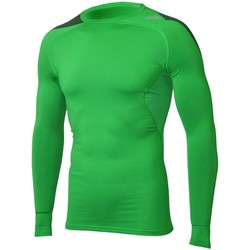 Clothing Men Long sleeved tee-shirts adidas Originals Cool LS P Green