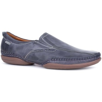 Shoes Men Loafers Pikolinos Ricardo Mens Slip On Casual Shoes blue