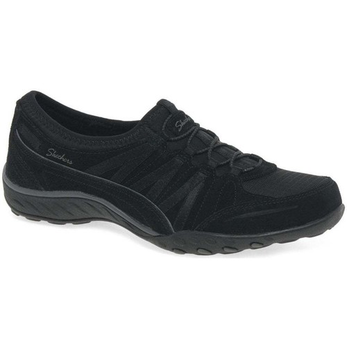 Shoes Women Low top trainers Skechers Breathe Easy Money Bags Womens Casual Sports Trainers black