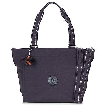 Bags Women Shopping Bags / Baskets Kipling NEW SHOPPER Purple