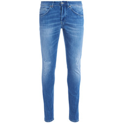 Clothing Men Jeans Dondup Jeans Don Dup George lavaggio blu chiaro con rotture Light blue
