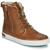 Shoes Women Hi top trainers Blackstone CW96 Brown