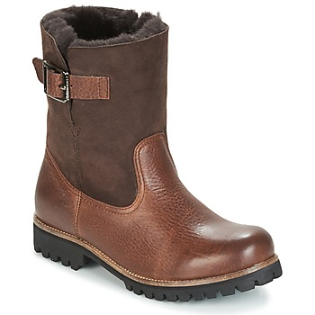 Shoes Women Mid boots Blackstone OL05 Brown