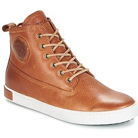 Shoes Men Hi top trainers Blackstone GM06 Brown