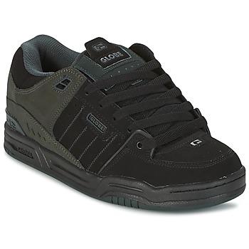 Shoes Men Skate shoes Globe FUSION Black