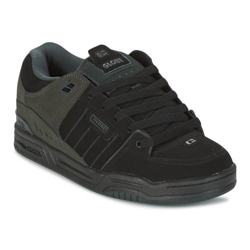 Shoes Men Low top trainers Globe FUSION Black