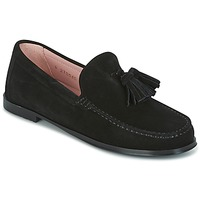 Shoes Women Loafers Pretty Ballerinas CROSTINA NEGRO Black