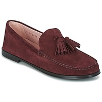 Shoes Women Loafers Pretty Ballerinas CROSTINA RIOJA Bordeaux