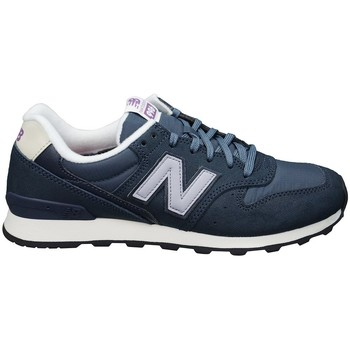 Shoes Women Low top trainers New Balance WR996VCA Navy blue-Violet-Black