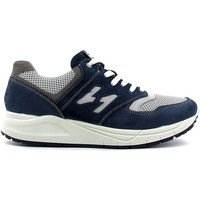 Shoes Men Walking shoes Igi&co 7715 Shoes with laces Man Blue Blue