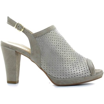 Shoes Women Sandals Igi&co 7757 High heeled sandals Women Grey Grey