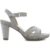 Shoes Women Sandals Igi&co 7853 High heeled sandals Women Grey Grey
