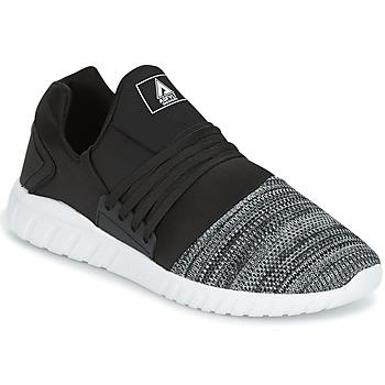Shoes Men Low top trainers Asfvlt AREA LOW Black / White