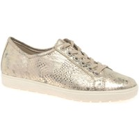 Shoes Women Low top trainers Caprice Heaven Womens Casual Lace Up Shoes gold