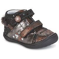 Shoes Mid boots Catimini ROSSIGNOL Black / Coppery