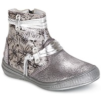 Shoes Girl Mid boots GBB REVA Silver