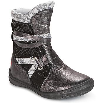 Shoes Girl Mid boots GBB ROSANA Grey