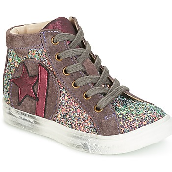 Shoes Girl Hi top trainers GBB MARTA Pink